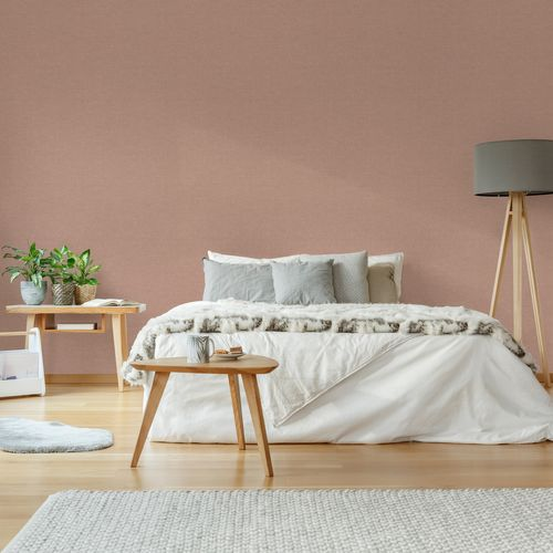 Decomode vliesbehang Texture terra roze