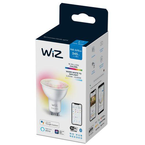 WiZ LED spot gekleurd en wit 50W GU10