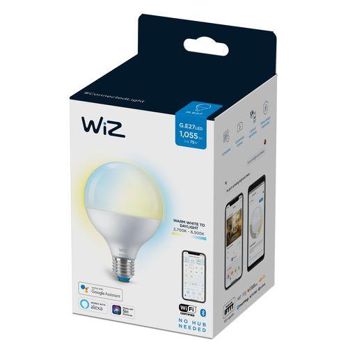 WiZ LED lamp globe warm en koelwit 75W E27