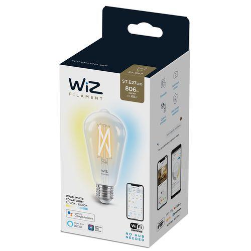 WiZ LED filamentlamp warm en koelwit 60W E27