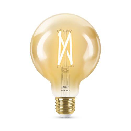 WiZ LED filamentlamp globe warm en koelwit 50W E27