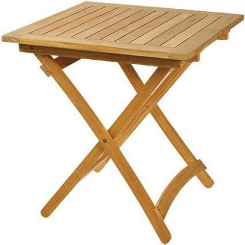 Central Park tafel Belem opklapaar teakhout 70x70cm