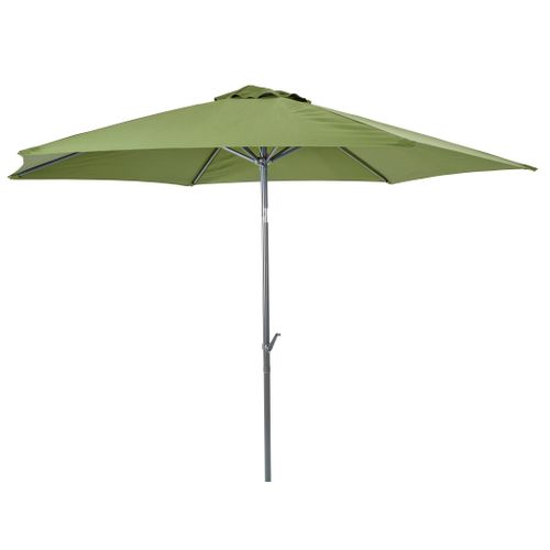 Parasol Central Park Sunny vert 3m
