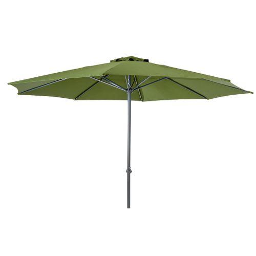 Parasol Central Park Sunny vert 3,5m