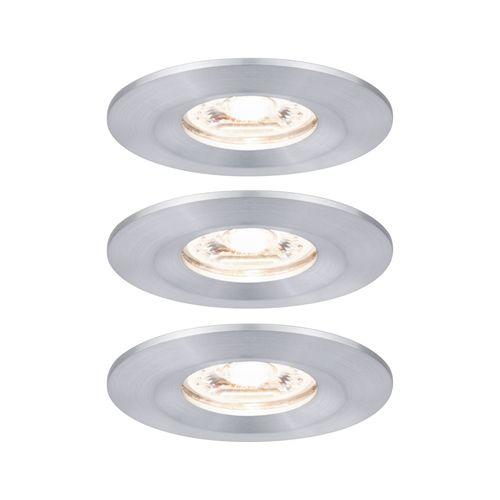 Paulmann inbouwspot LED Nova Mini aluminium 3x4W