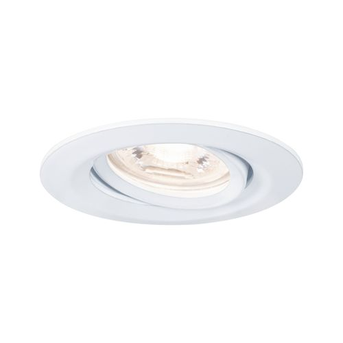 Spot encastrables Paulmann LED Nova Mini orientable blanc 4W