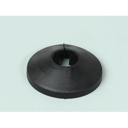 Sencys buisrozet zwart 15mm 4stuks