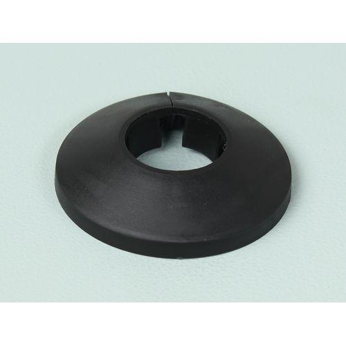 Sencys buisrozet zwart 22mm 4stuks