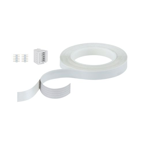 Paulmann Invisible Connector MaxLED 5m Wit kunststof