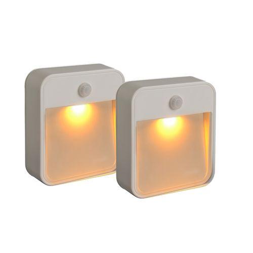 Mr Beams projecteur extérieur 2pk Stick Anywhere Light-Amber LED