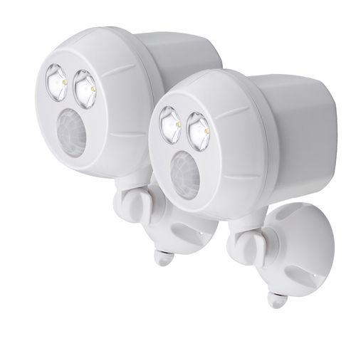 Mr Beams beveiligingsverlichting UltraBright Spotlight Wit 2-Pack