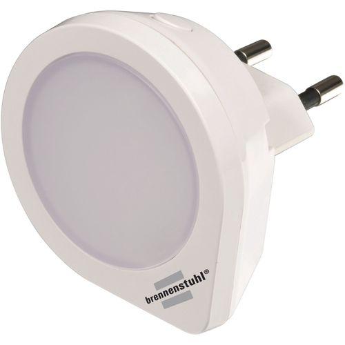 Brennenstuhl nachtlamp rond 1 LED stopcontactlamp 1,5lm