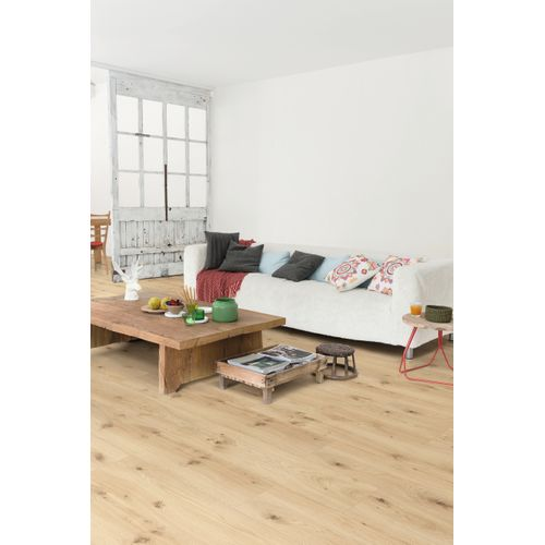 Parquet stratifié Quick-Step Baikal chêne naturel 7mm 2,421m²