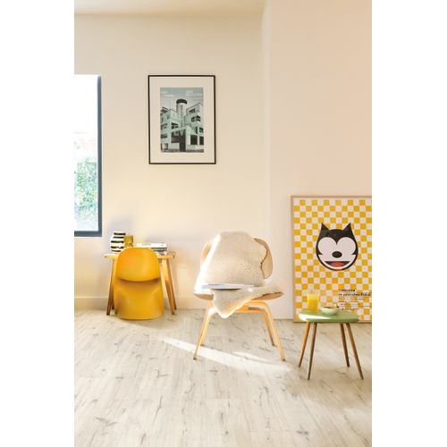 Parquet stratifié Quick-Step Mono Balaton chêne blanc 7mm 2,421m²