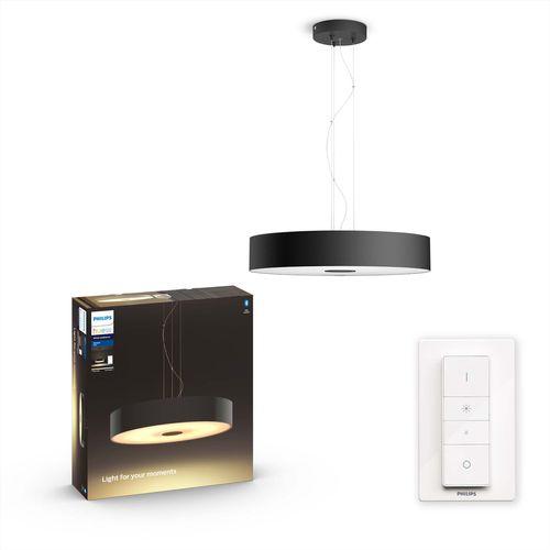 Philips Hue hanglamp LED Fair zwart 2x33,5W