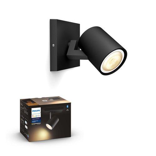 Philips Hue spot LED Runner zwart 5,5W