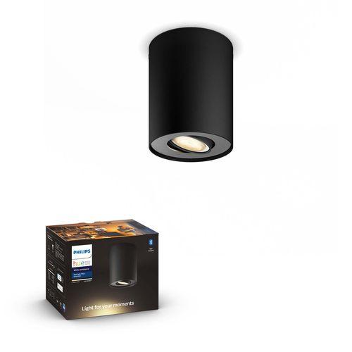 Philips Hue spot LED Pillar zwart 5W