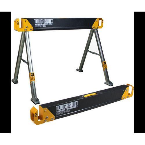 Toughbuilt schraag C550 draagcapaciteit 500 kg zwart oranje - 1 stuks