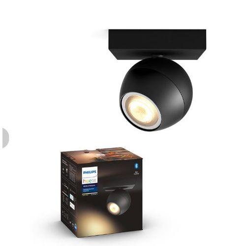 Philips Hue spot LED Buckram zwart 5,5W
