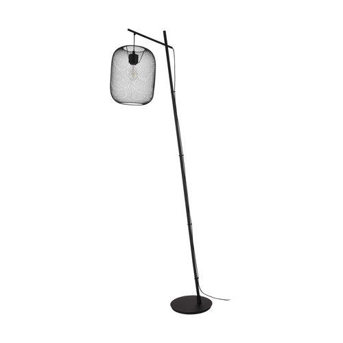 EGLO vloerlamp Wrington zwart E27