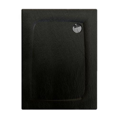 Allibert douchebak Mooneo rechthoekig 100x80cm zwart