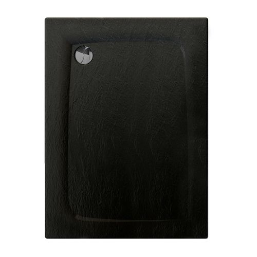 Allibert douchebak Mooneo rechthoekig 120x90cm zwart