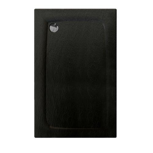 Allibert douchebak Mooneo rechthoekig 140x90cm zwart