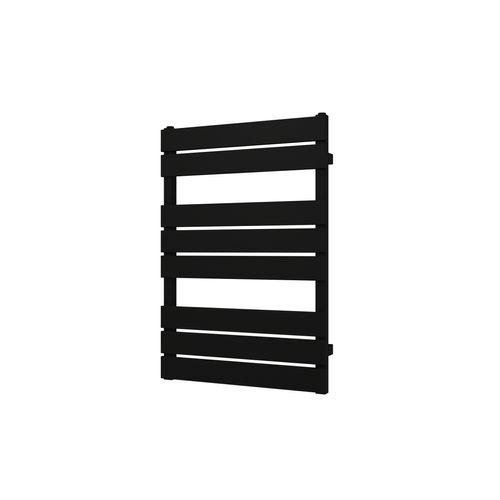 Plieger Genua designradiator horizontaal 800x550mm 405W mat zwart
