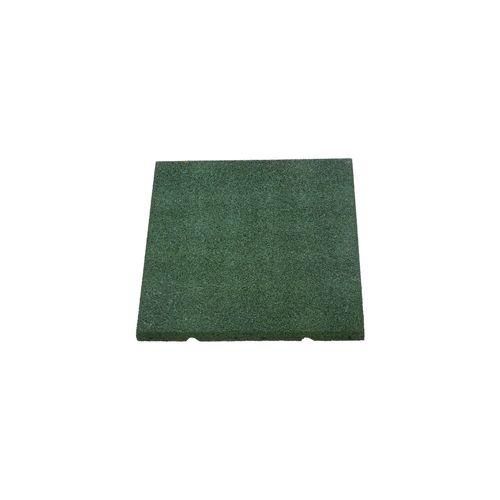 Decor rubberen tegel groen 40x40x2,5cm