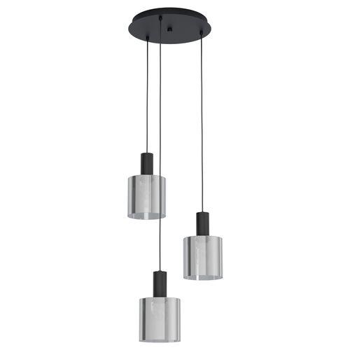 EGLO hanglamp Gorosiba zwart 3xE27