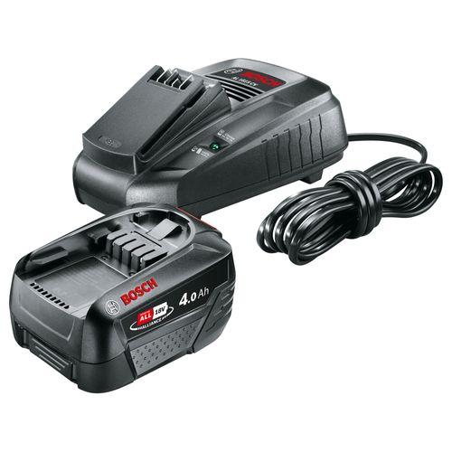 Bosch batterij + lader Starter Set 18V 4Ah