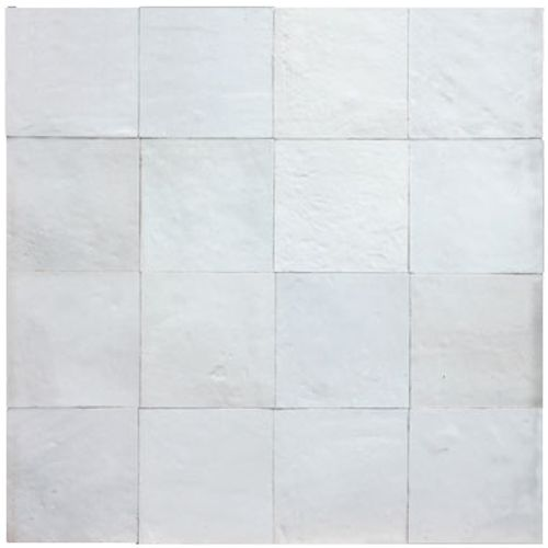 Zellige muurtegel wit 10x10cm 1m²