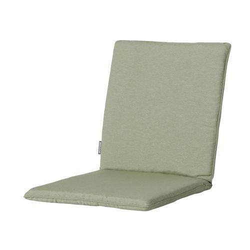 Coussin de fauteuil Madison Panama sage vert 97x49cm