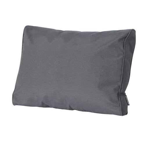 Coussin de fauteuil Madison Panama gris 60x40cm