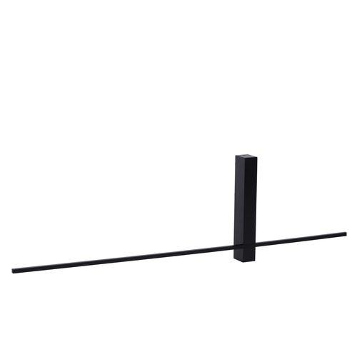 Lucide wandlamp LED Segin zwart 6W