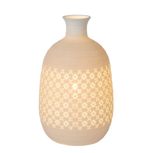 Lucide tafellamp Tiesse wit E14