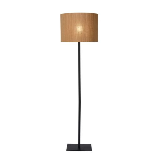 Lucide vloerlamp Magius hout E27