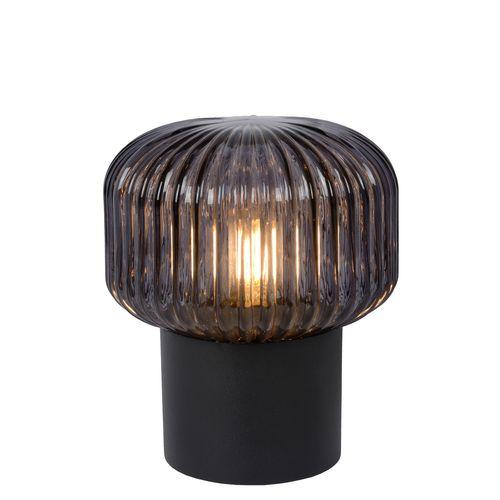 Lucide tafellamp Jany zwart E14
