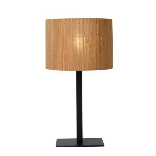 Lampe à poser Lucide Magius bois E27