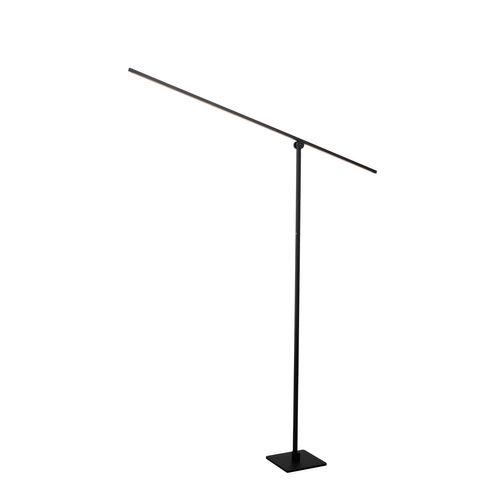 Lucide vloerlamp LED Agena zwart 14,5W