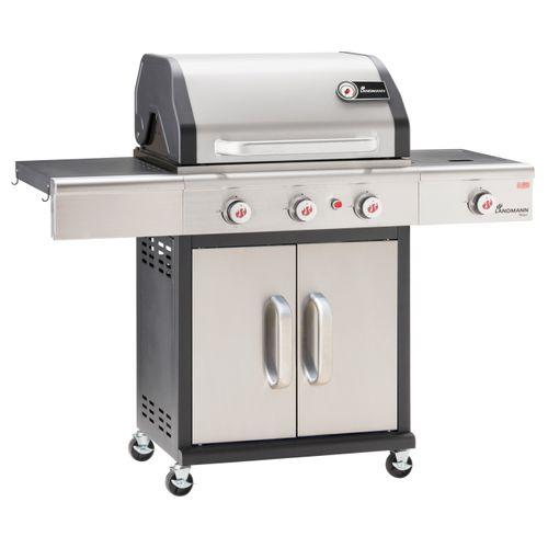 Landmann gasbarbecue Triton maxX PTS 3.1 15kW zilver