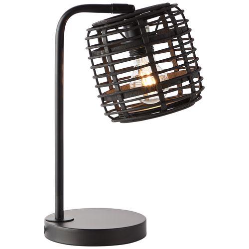 Brilliant tafellamp Crosstown zwart E27