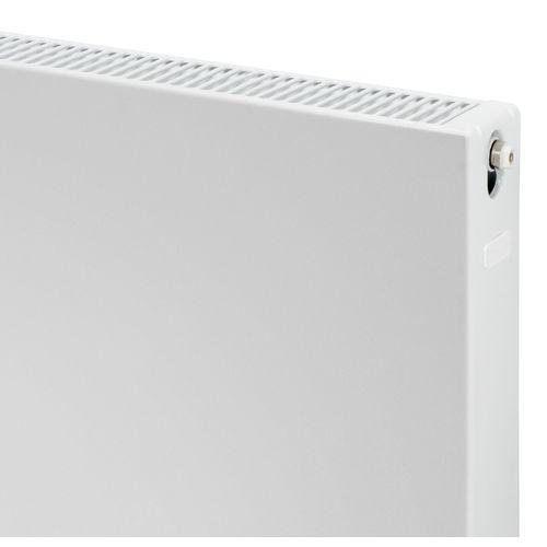 Plieger Compact flat paneelradiator compact vlakke plaat type 22 600x400mm 632W mat zwart 7250524