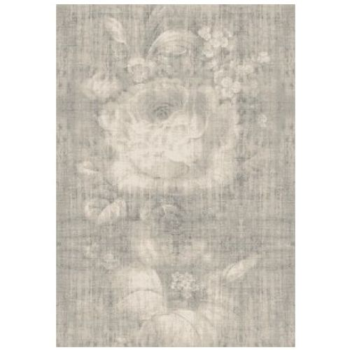 Vloerkleed Romée vintage bloem grijs 160x230cm
