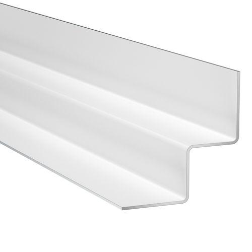 James Hardie binnenhoekprofiel Arctic White 300x2,5x2,5cm
