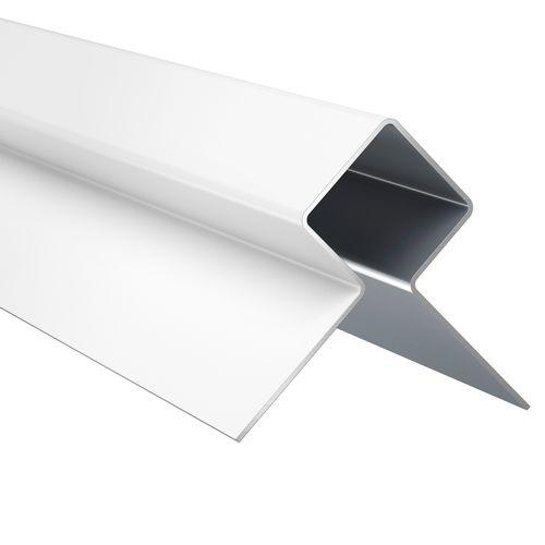 Profil d'angle extérieur James Hardie Grey Slate 300x2,5x2,5cm