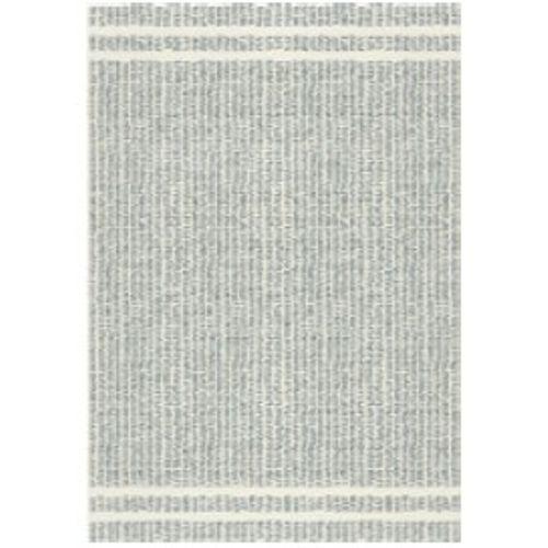 Vloerkleed Nouk streep lichtgrijs 160x230