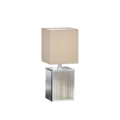 Fischer & Honsel tafellamp Bert goudkleurig 35cm E14