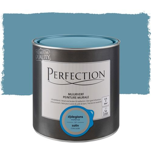 Peinture murale Perfection ultra couvrante cascade satin 2,5L