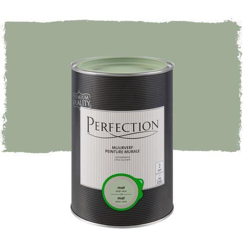 Perfection ultradekkende muurverf Aloe Vera mat 1L